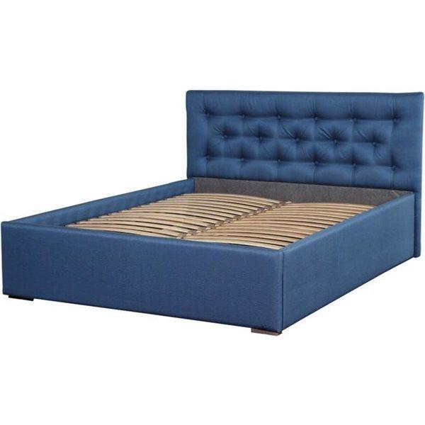 Glame łóżko 160x200 Tapicerowane Z Pojemnikiem Centrum Meblowe Concept