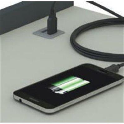 ŁADOWARKA USB 2X USB 5V (DO ŁADOWANIA NP. TELEFONÓW, TABLETÓW ITP.)