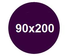 Łóżka w rozmiarze 90x200