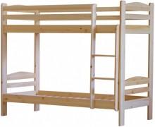 Łóżka pietrowe sosnowe