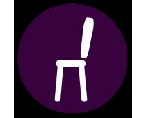 Krzesła, hokery, ławki