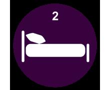 Łóżka piętrowe niskie 2 osobowe