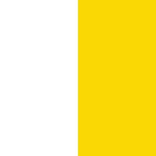 Biały lux / żółty