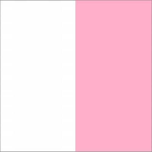 Biały / różowy