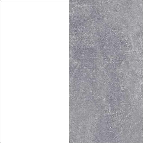 Biały lux / beton