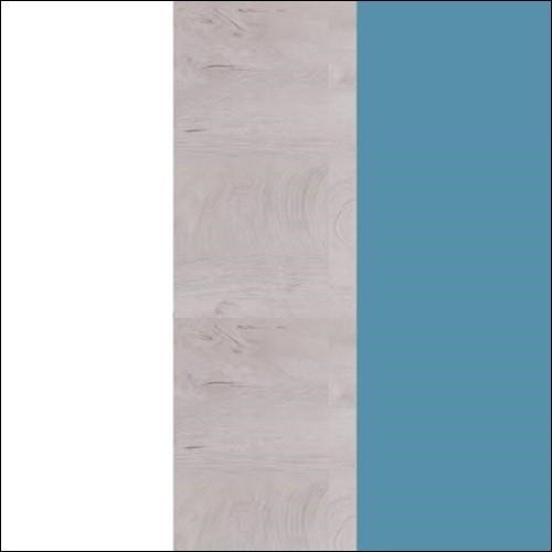 Biały lux / dąb / morski