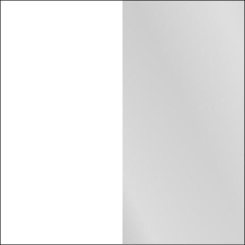 Biały / lustro