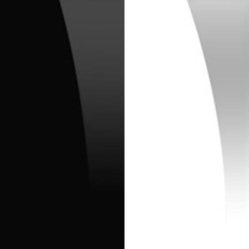 Czarny połysk / biały połysk